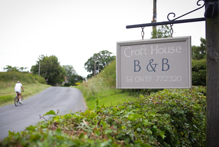 Croft House Bed and Breakfast at Harome, North Yorkshire