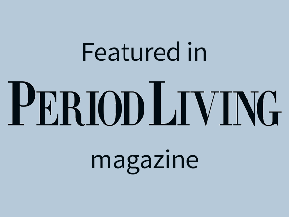 Featured in Period Living magazine